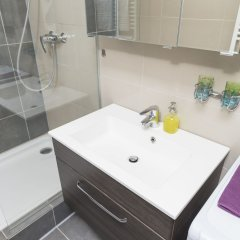 Отель Hideaway am Tabor by welcome2vienna Австрия, Вена - отзывы, цены и фото номеров - забронировать отель Hideaway am Tabor by welcome2vienna онлайн ванная