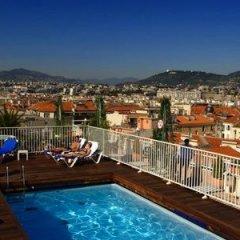 Отель Gounod Hotel Франция, Ницца - 7 отзывов об отеле, цены и фото номеров - забронировать отель Gounod Hotel онлайн бассейн фото 3