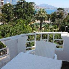 Отель Myrtaj Албания, Саранда - отзывы, цены и фото номеров - забронировать отель Myrtaj онлайн балкон