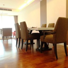 Апартаменты GM Serviced Apartment Бангкок питание