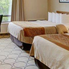 Отель Comfort Inn Ottawa East Канада, Оттава - отзывы, цены и фото номеров - забронировать отель Comfort Inn Ottawa East онлайн комната для гостей фото 4