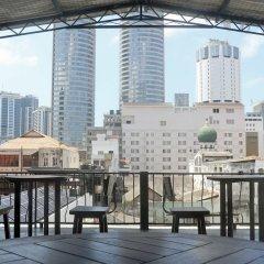 Отель C1 Colombo Fort Шри-Ланка, Коломбо - отзывы, цены и фото номеров - забронировать отель C1 Colombo Fort онлайн балкон