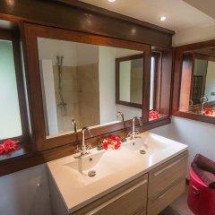 Отель Villa Bora Bora Lagoon Французская Полинезия, Бора-Бора - отзывы, цены и фото номеров - забронировать отель Villa Bora Bora Lagoon онлайн ванная