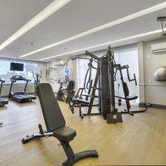 Hotel Deville Business Curitiba фитнесс-зал фото 2