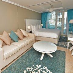 Отель Jannah Marina Bay Suites Люкс повышенной комфортности с различными типами кроватей