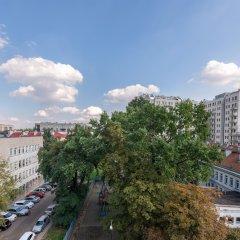 Отель P&O Apartments Metro Raclawicka-FALECKA Польша, Варшава - отзывы, цены и фото номеров - забронировать отель P&O Apartments Metro Raclawicka-FALECKA онлайн балкон