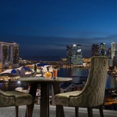 Отель Pan Pacific Singapore балкон