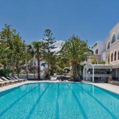 Отель Makarios Греция, Остров Санторини - отзывы, цены и фото номеров - забронировать отель Makarios онлайн бассейн