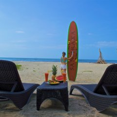 Hotel Sansiraka пляж фото 2
