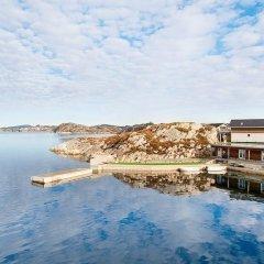 Отель Lauvøy Feriesenter пляж фото 2