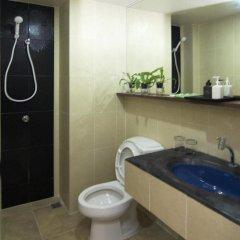 Отель Rome Place Hotel Таиланд, Пхукет - 3 отзыва об отеле, цены и фото номеров - забронировать отель Rome Place Hotel онлайн ванная фото 2