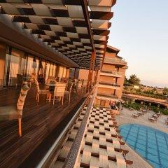 Hierapark Thermal & Spa Hotel Турция, Памуккале - отзывы, цены и фото номеров - забронировать отель Hierapark Thermal & Spa Hotel онлайн балкон