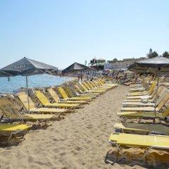 Hotel Triton пляж фото 2