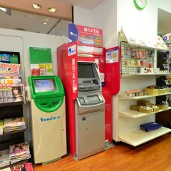 Отель ANA Crowne Plaza Narita банкомат