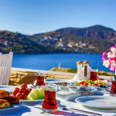 Zinbad Hotel Kalkan Турция, Калкан - 1 отзыв об отеле, цены и фото номеров - забронировать отель Zinbad Hotel Kalkan онлайн питание фото 3