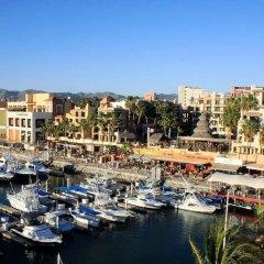 Отель Best Marina&pool View Luxe JR Suite IN Cabo Золотая зона Марина балкон