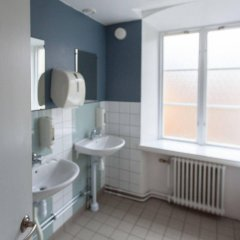 Stf Stockholm/af Chapman & Skeppsholmen Hostel Стокгольм ванная