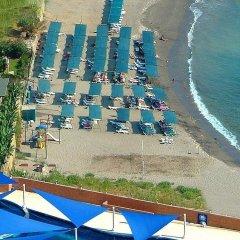 Asrin Beach Hotel Турция, Аланья - отзывы, цены и фото номеров - забронировать отель Asrin Beach Hotel - All Inclusive онлайн пляж фото 2