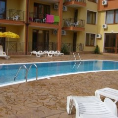 Отель Suite Kremena Болгария, Свети Влас - отзывы, цены и фото номеров - забронировать отель Suite Kremena онлайн бассейн фото 3