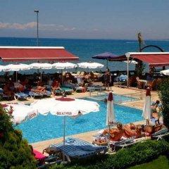 Side Altinkum Bungalow Hotel пляж