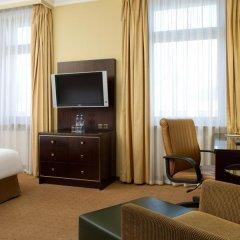 Гостиница Hilton Москва Ленинградская 5* Представительский номер с различными типами кроватей фото 18