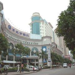 Отель Xiamen Sansiro Hotel Китай, Сямынь - отзывы, цены и фото номеров - забронировать отель Xiamen Sansiro Hotel онлайн вид на фасад