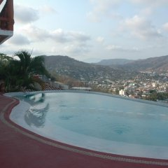 Отель Villas El Morro Сиуатанехо бассейн фото 2