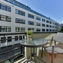 Апартаменты Forenom Serviced Apartments Oslo Rosenborg балкон