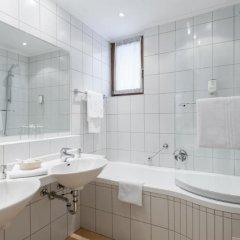 Отель Tyrolerhof Австрия, Хохгургль - отзывы, цены и фото номеров - забронировать отель Tyrolerhof онлайн ванная фото 2