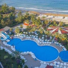 Annabella Diamond Hotel & Spa Турция, Аланья - отзывы, цены и фото номеров - забронировать отель Annabella Diamond Hotel & Spa - All Inclusive онлайн пляж фото 2