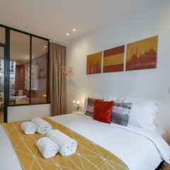 Апартаменты Sweet inn Apartments Les Halles-Etienne Marcel комната для гостей
