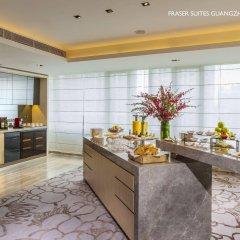 Отель Fraser Suites Guangzhou Китай, Гуанчжоу - отзывы, цены и фото номеров - забронировать отель Fraser Suites Guangzhou онлайн питание фото 2