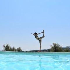 Отель Le Ginestre Arte Vacanze Кьянчиано Терме бассейн фото 2