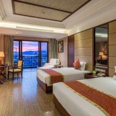Отель Grand Metropark Bay Hotel Sanya Китай, Санья - отзывы, цены и фото номеров - забронировать отель Grand Metropark Bay Hotel Sanya онлайн комната для гостей фото 2