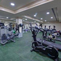 Отель Sahara Beach Resort & Spa ОАЭ, Шарджа - 7 отзывов об отеле, цены и фото номеров - забронировать отель Sahara Beach Resort & Spa онлайн фитнесс-зал фото 2