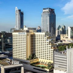 Отель Novotel Bangkok On Siam Square балкон