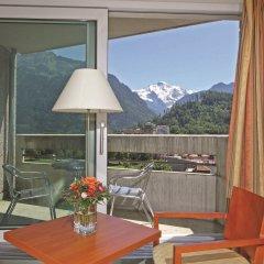 Metropole Swiss Quality Interlaken Hotel балкон