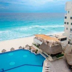 Отель BSEA Cancun Plaza Hotel Мексика, Канкун - отзывы, цены и фото номеров - забронировать отель BSEA Cancun Plaza Hotel онлайн пляж фото 3