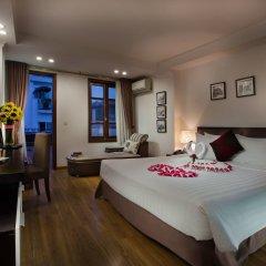 Отель Hanoi Focus Hotel Вьетнам, Ханой - отзывы, цены и фото номеров - забронировать отель Hanoi Focus Hotel онлайн комната для гостей фото 2
