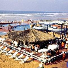 Отель Sheraton Casablanca Hotel & Towers Марокко, Касабланка - отзывы, цены и фото номеров - забронировать отель Sheraton Casablanca Hotel & Towers онлайн пляж фото 2