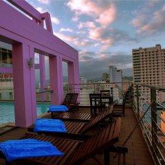 Отель Golden Rain Вьетнам, Нячанг - 8 отзывов об отеле, цены и фото номеров - забронировать отель Golden Rain онлайн балкон