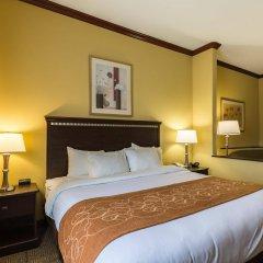 Отель Comfort Suites Galveston США, Галвестон - отзывы, цены и фото номеров - забронировать отель Comfort Suites Galveston онлайн комната для гостей фото 4