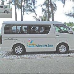 Отель Eureka Airport Inn городской автобус