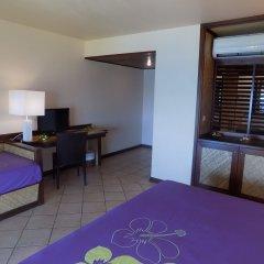 Отель Maitai Polynesia Французская Полинезия, Бора-Бора - отзывы, цены и фото номеров - забронировать отель Maitai Polynesia онлайн комната для гостей фото 3