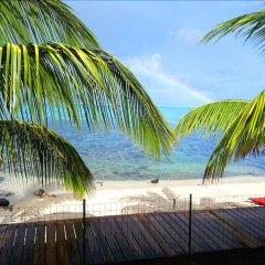 Отель Fare Taina Nui Муреа пляж
