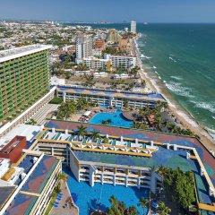 Отель El Cid Castilla De Playa Масатлан пляж фото 2
