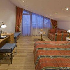 Отель Swiss Alpine Hotel Allalin Швейцария, Церматт - отзывы, цены и фото номеров - забронировать отель Swiss Alpine Hotel Allalin онлайн комната для гостей фото 2