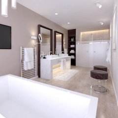 Отель The Waterfront Hotel Мальта, Гзира - отзывы, цены и фото номеров - забронировать отель The Waterfront Hotel онлайн ванная