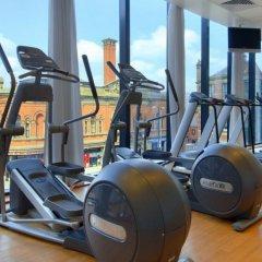 Отель Hilton Manchester Deansgate Манчестер фитнесс-зал фото 4