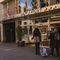 Отель Evenia Rocafort городской автобус